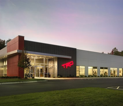 TRD CHASSIS ENGINEERING BUILDING