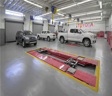 Toyota Service Training Nationwide